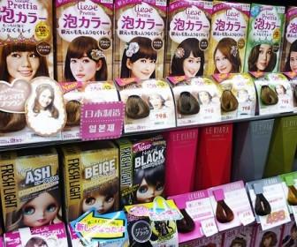 sennik Farbowanie włosów