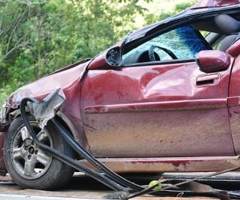 Sen o wypadku samochodowym